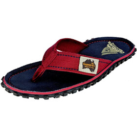 GUMBIES Islander Canvas Thongs navy coast